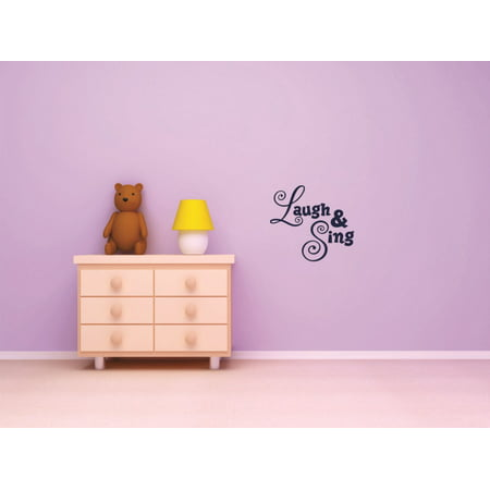 New Wall Ideas Laugh & Sing Love Quote Happy Home 16 X - Happy Halloween Love Quotes