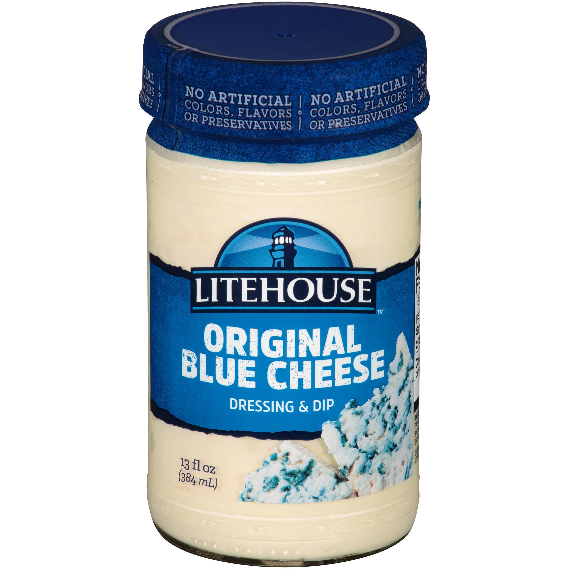 Litehouse Original Bleu Cheese Dressing & Dip 13 Fl Oz Jar