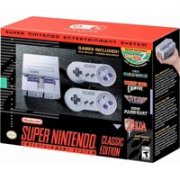 Nintendo - Entertainment System: SNES Classic Edition (2017 Limited Edition)