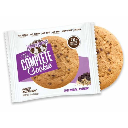 Lenny & Larry's Complete Vegan Cookie - Oatmeal Raisin - 12ct
