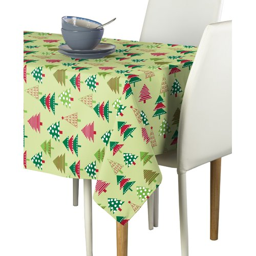 The Holiday Aisle Engelke Decorated Christmas Tree Tablecloth