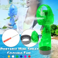 Handheld Misting Fans Personal Cooling Fan Mini Spray Cool Fan for Beach Traveling Hiking Camping Indoor Outdoor 6 Colors