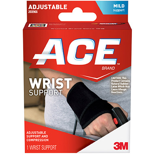ACE Wrist Support, One Size Adjustable, 203966