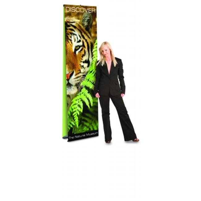 Testrite Visual Products UB624 Ultra UB Banner Stands 24 inch Double Ultra Banner Stand- Black