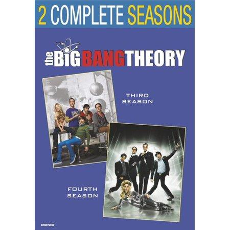 Big Bang Theory  Season 3   Season 4  Dvd
