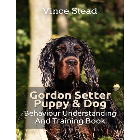 Gordon Setter Puppy & Dog Behavior Understanding and Training Book - (Gordon Setter Silhouette)