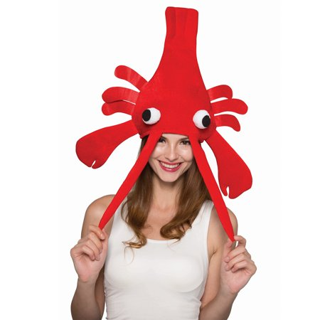 Christmas Xmas Funny Lobster Hat Halloween Party Hat Fancy Dress Costume One Size](Tesco Fancy Dress Halloween)