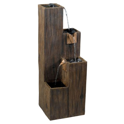 "Kenroy Home 50007 Timber 35"" High Outdoor Floor Fountain by Kenroy Home"