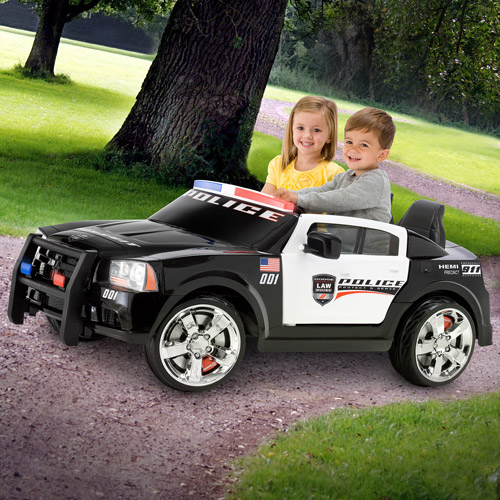 Kid Trax Dodge Pursuit Police Car 12-Volt Battery-Powered Ride-On by Pacific Cycle