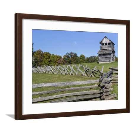 Virginia, Blue Ridge Parkway. Groundhog Mountain Wooden Lookout Tower Framed Print Wall Art By Don