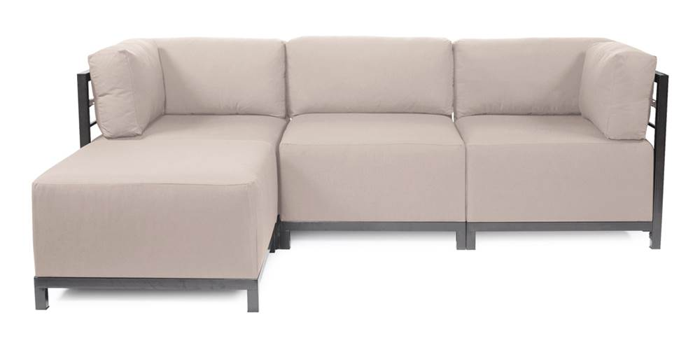 4-Pc Sectional in Seascape Sand by Howard Elliott Collection