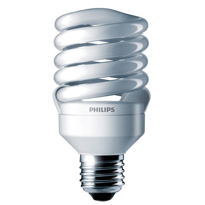 Philips 18w 120v Twist 2700K Warm White E26 Fluorescent Light Bulb