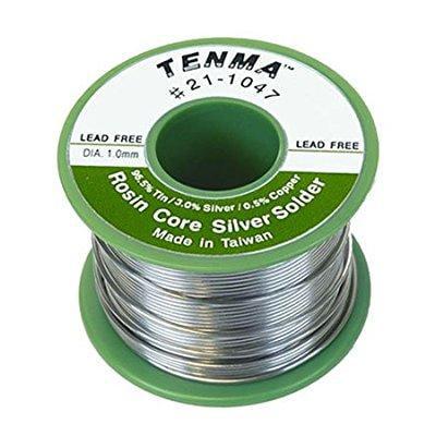 Tenma 21-1042 Lead Free Rosin Core Solder - Tin / Silver / Copper -
