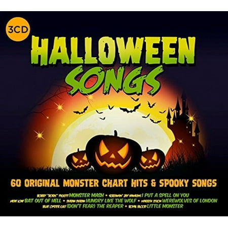 Halloween Songs / Various (CD) (Spongebob Halloween Song)