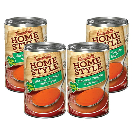 (3 Pack) Campbell's Homestyle Healthy Request Harvest Tomato with Basil Soup, 18.7
