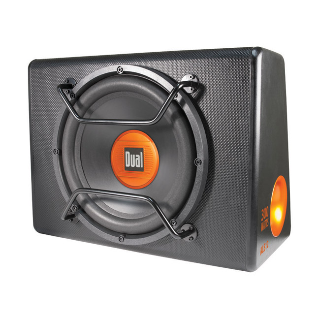 "DUAL ALB12 12"" Amplified Woofer Box 300w"
