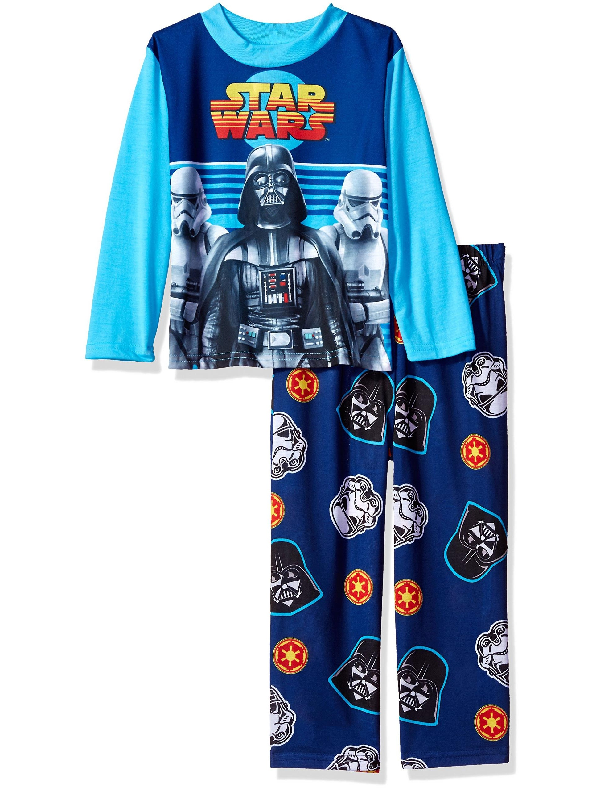 Star Wars Big Boys' From The Beginning Two-Piece Pajama Set