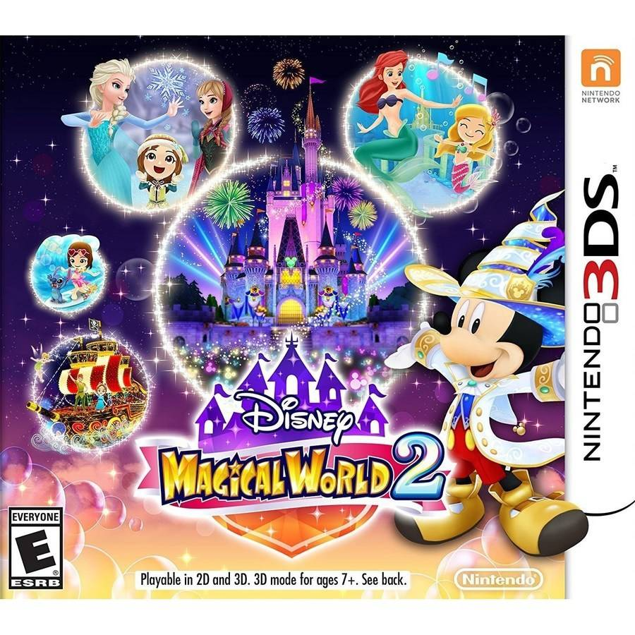 Disney Magical World 2 Nintendo Nintendo 3ds 045496744014