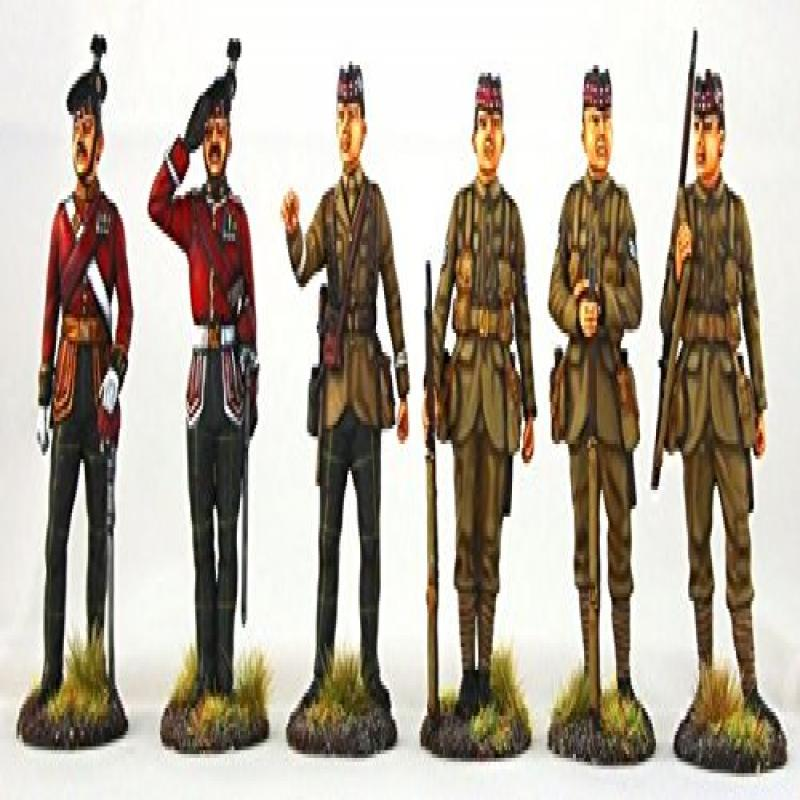 Empire Military Miniatures EM-1501 The Royal Scots Quintinshill Memorial Set by