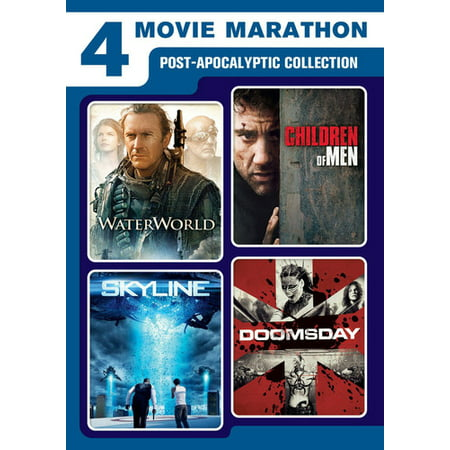 4-Movie Marathon: Post-Apocalyptic Collection (DVD) - Halloween Movie Marathon London