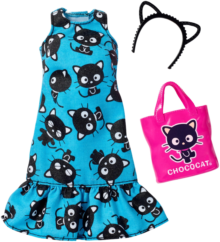 Barbie Hello Kitty Blue Cat Dress by Mattel