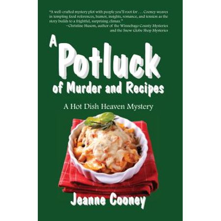 A Potluck of Murder and Recipes (Easy Halloween Potluck Recipes)