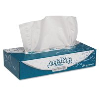 Georgia Pacific Angel Soft Ultra Premium White Facial Tissue, 125 SHeets, 30 ct by Georgia Pacific