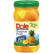 Dole® Jarred Tropical Fruit - 23.5 oz. Plastic Jar
