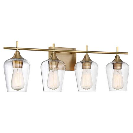 Savoy House Octave Bathroom Vanity Light Walmartcom - Savoy bathroom light fixtures