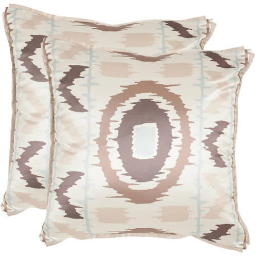 "Safavieh Walton 18"" x 18"" Pillow, Set of 2"