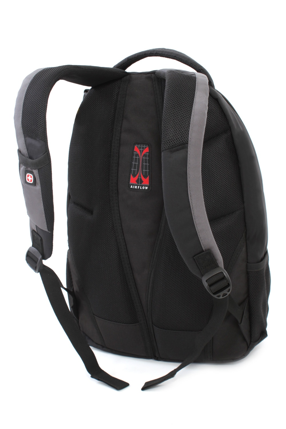 SwissGear Travel Gear Bungee Backpack (Black/Grey) - Walmart.com