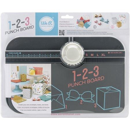 We R 123 Punch Board