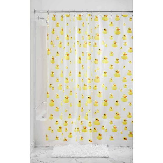 InterDesign Ducks PEVA Shower Curtain - Walmart.com