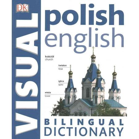 Polish English Bilingual Visual Dictionary (DK) (Paperback) ()