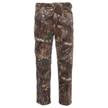 ScentBlocker Adrenaline Pant, Micro Fleece, Cold Fusion Catalyst, Multiple Pockets, Zip Fly, Articulated Knees - XL - Realtree Edge Zip Fly Trousers