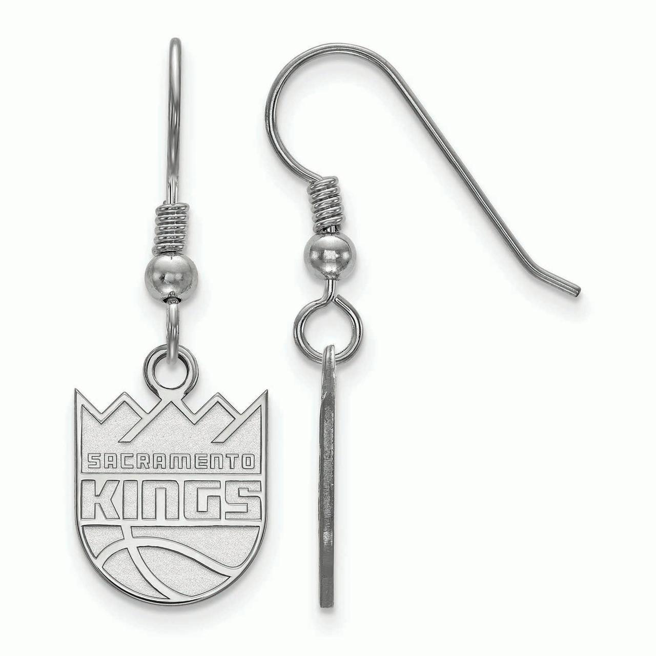 Sacramento Kings Women's Sterling Silver XS Dangle Earrings - No Size