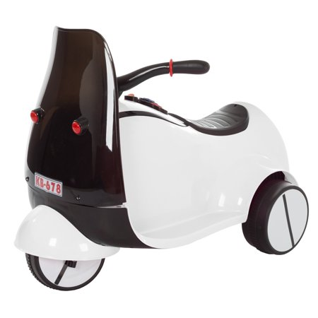Trademark Global Lil Rider 3 Wheel Battery Ed Euro Motorcycle Ride On