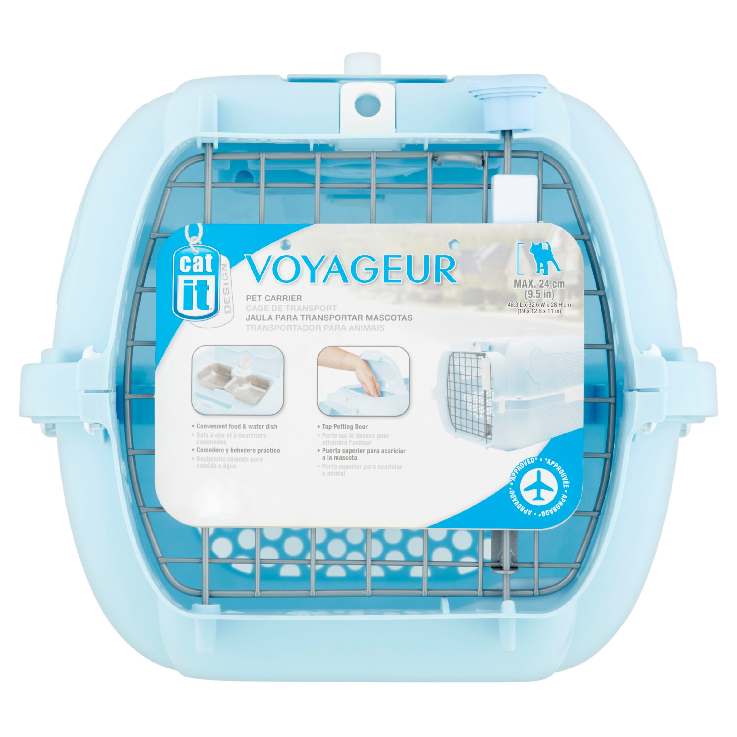 Cat it Voyageur Pet Carrier by Rolkf C. Hagen (U.S.A.) Corp.