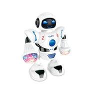 TureClos Electronic Light Music Dancing Robot Kids Walking Dancing Singing Musical Colorful Children Robot Toy