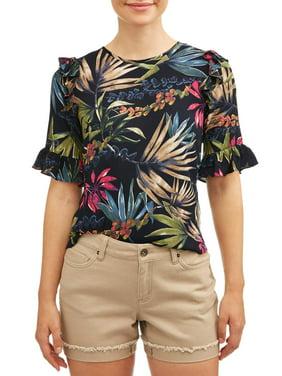 d6f7f30c1e9f Product Image Women's Ruffle Sleeve Top