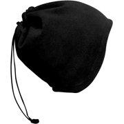 Peach Couture Soft Versatile Ski Face Mask Hat Neck warmer Biker Snowboard Skiing Snow Sport (Black)