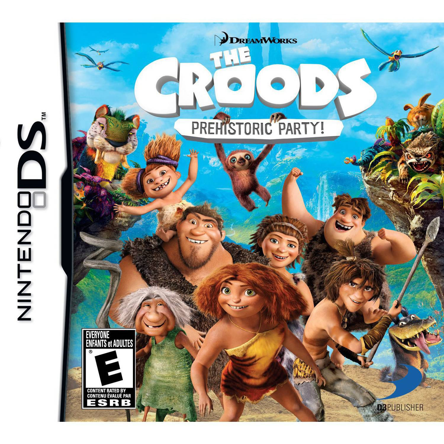 Cokem International Preown Nds The Croods:prehistoric Party