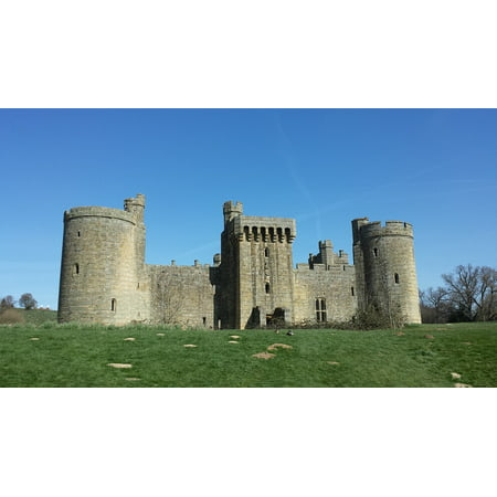 LAMINATED POSTER Sussex Medieval Fort Bodium Castle Stone Poster Print 11 x 17