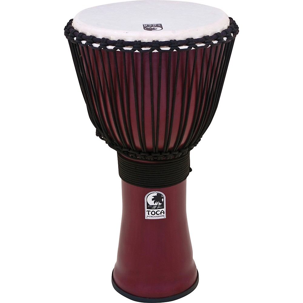Toca Freestyle II Rope-Tuned Djembe 9 in. African Dance (TF2DJ-9AD) by Toca