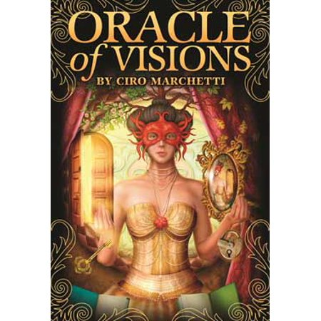 Adult Carnival Games (Tarot Cards Oracle of Visions Deck Victorian Theater and Carnival Lush Imagery Open New Ways of Looking At Choices Includes 52-Cards and 140 Page Book Fortune Telling Tool by Ciro)