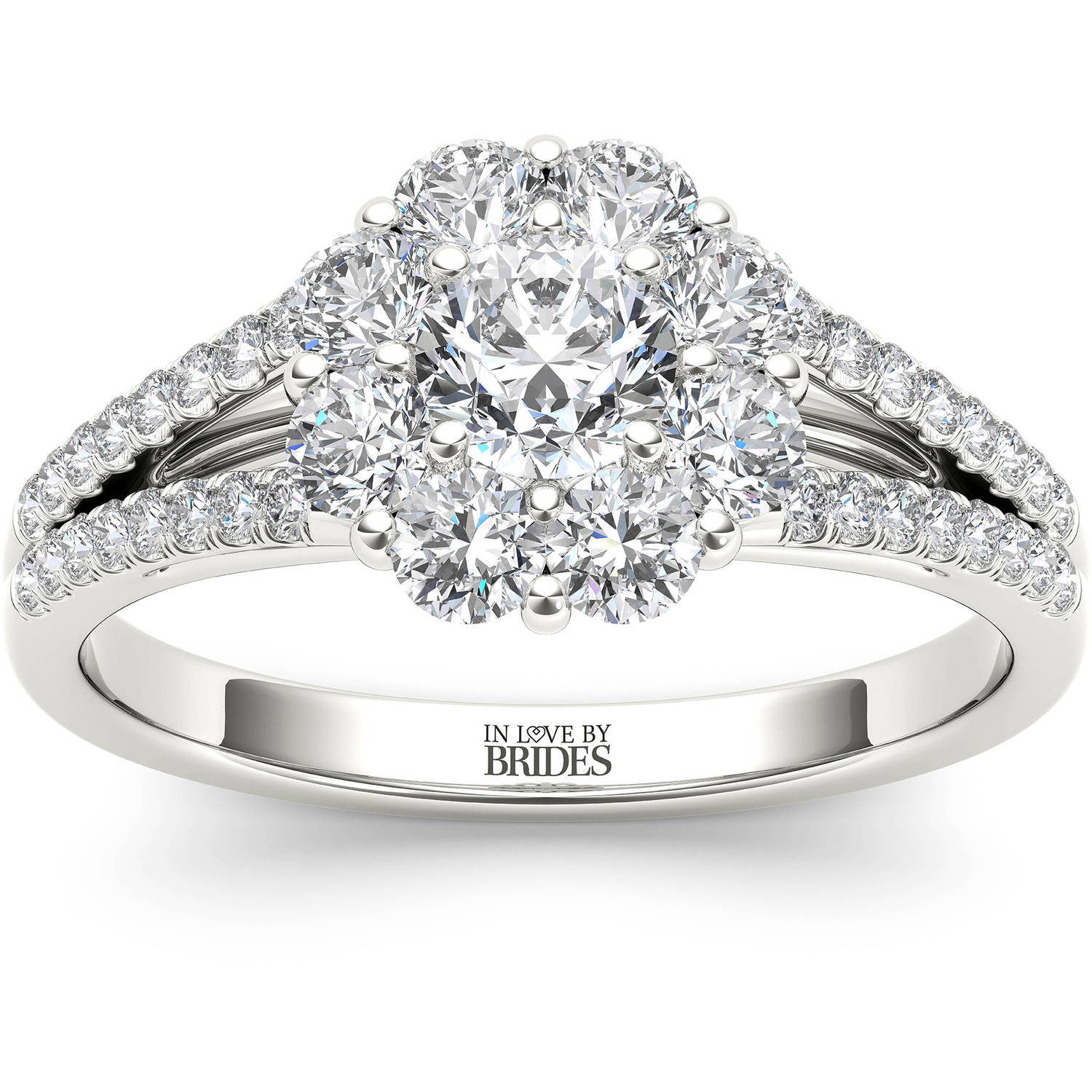 In Love By Brides 1.00ct Tw Diamond  Flo