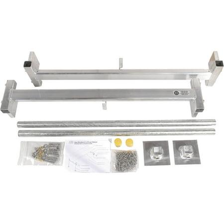 Loading Dock Kit (Dock Edge 85-320-F Hybrid Aluminum Dock Kit, 4' x)