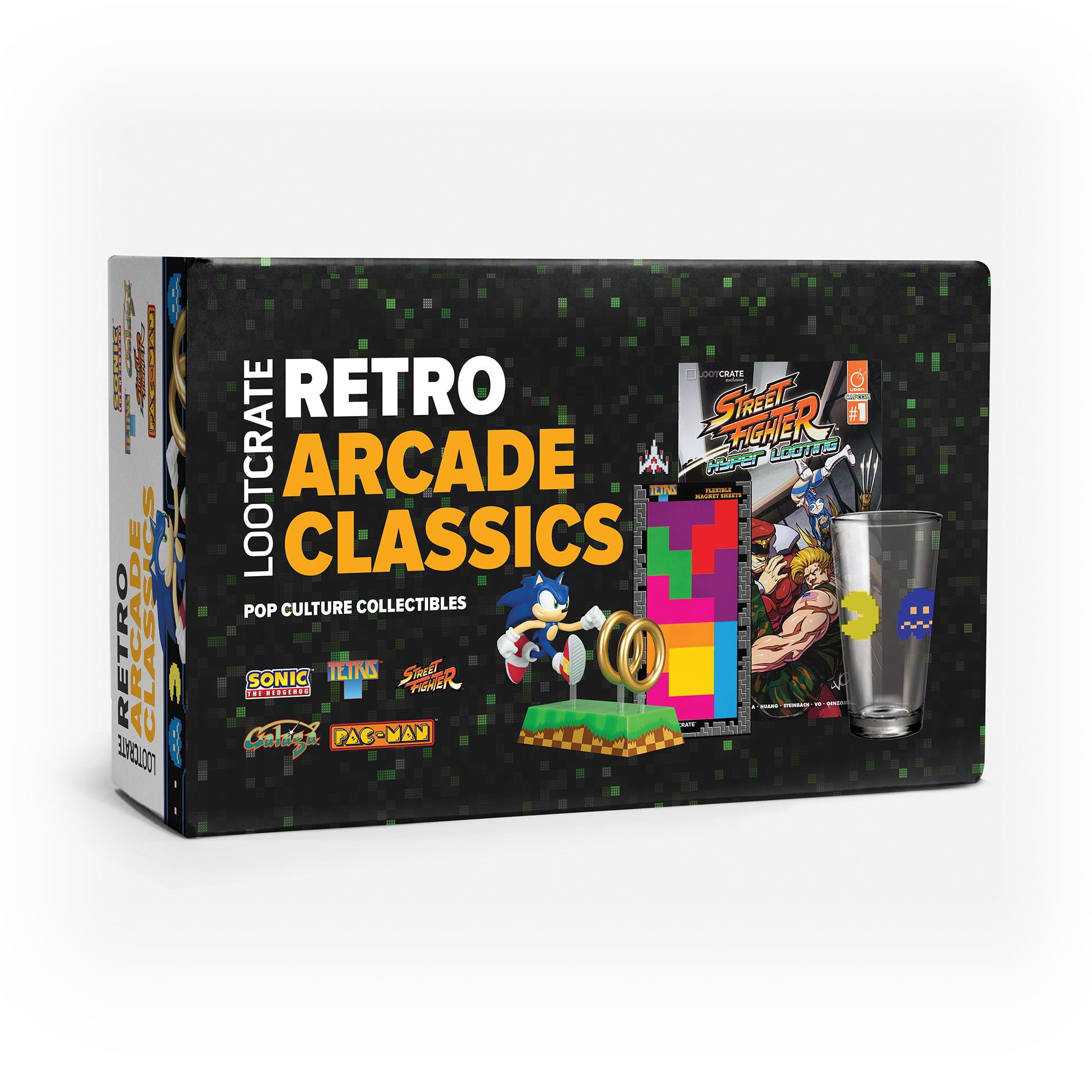 Loot Crate Retro Arcade Classics