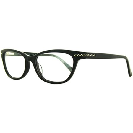 Allure L3003 Women's Rx-able Eyeglass Frames, Black