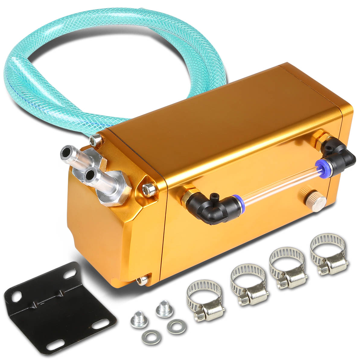 Univeral Aluminum Racing Oil Catch Tank Square Style Tank